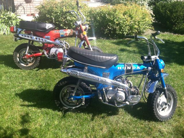 2) Honda Trail 70s Alexandria MN