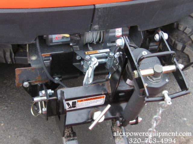 2008 Kubota Rtv500 Utility Vehical W Plow And Winc