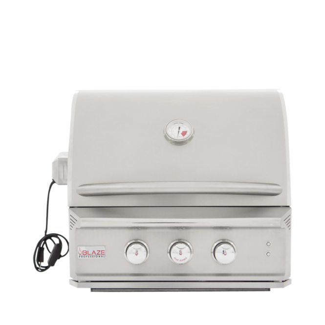 Photo de BBQ Blaze Pro 27'' Gaz naturel - Tete seulement