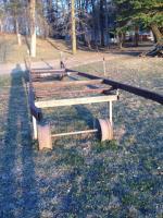 Homemade pontoon lift for sale. Fits 8 ft wide pon Alexandria, MN