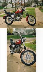 1970 Triumph TR 650 Alexandria MN