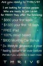 Thrive Business Opportunity New Munich MN