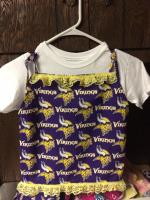 Minnesota Vikings Toddler Spaghetti Strap Set Willmar MN