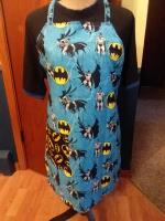 BATMAN TWO SIDED ADULT APRON... FREE SHIPPING Willmar MN