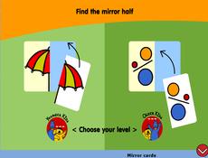 Mirror cards