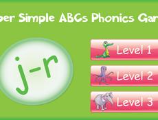 Phonics j r