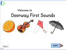 Doorway first sounds