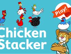 Chicken stacker