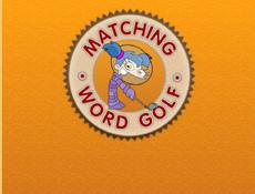 Matching word golf