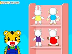 Tiger dolls