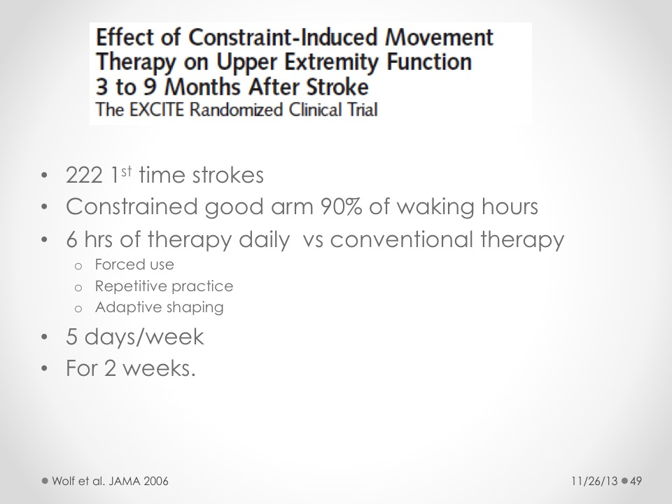 Principles of Stroke Rehabilitation - St  David's HealthCast