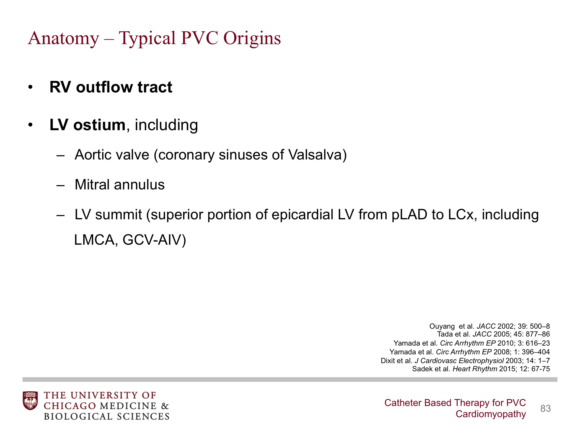 Catheter-Based Therapy for PVC Cardiomyopathy - BroadcastMed