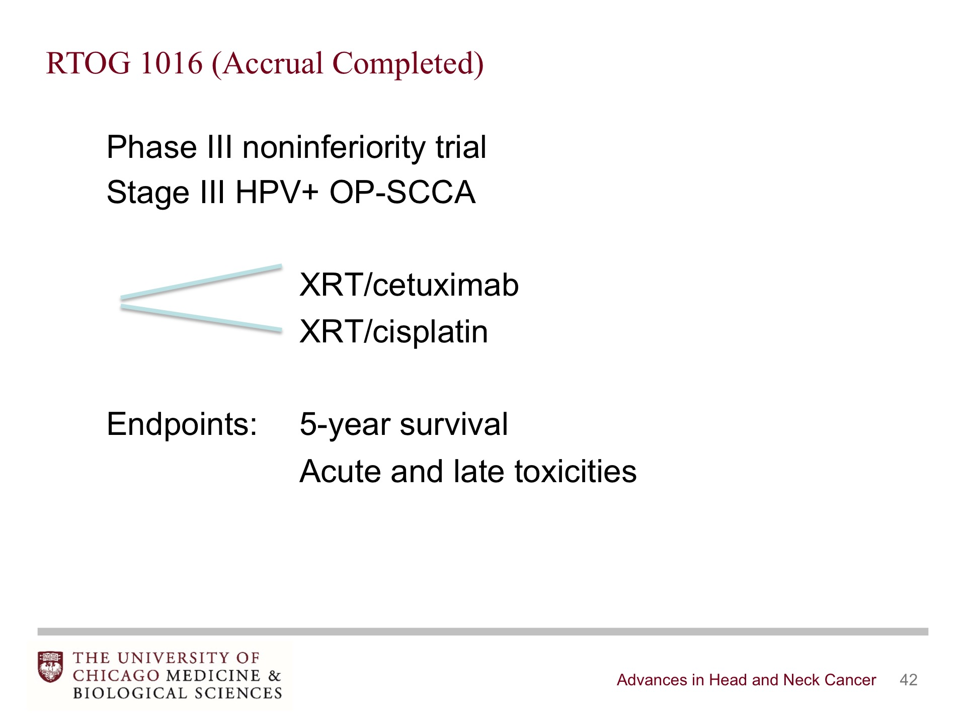 Advances in Head and Neck Cancer - BroadcastMed