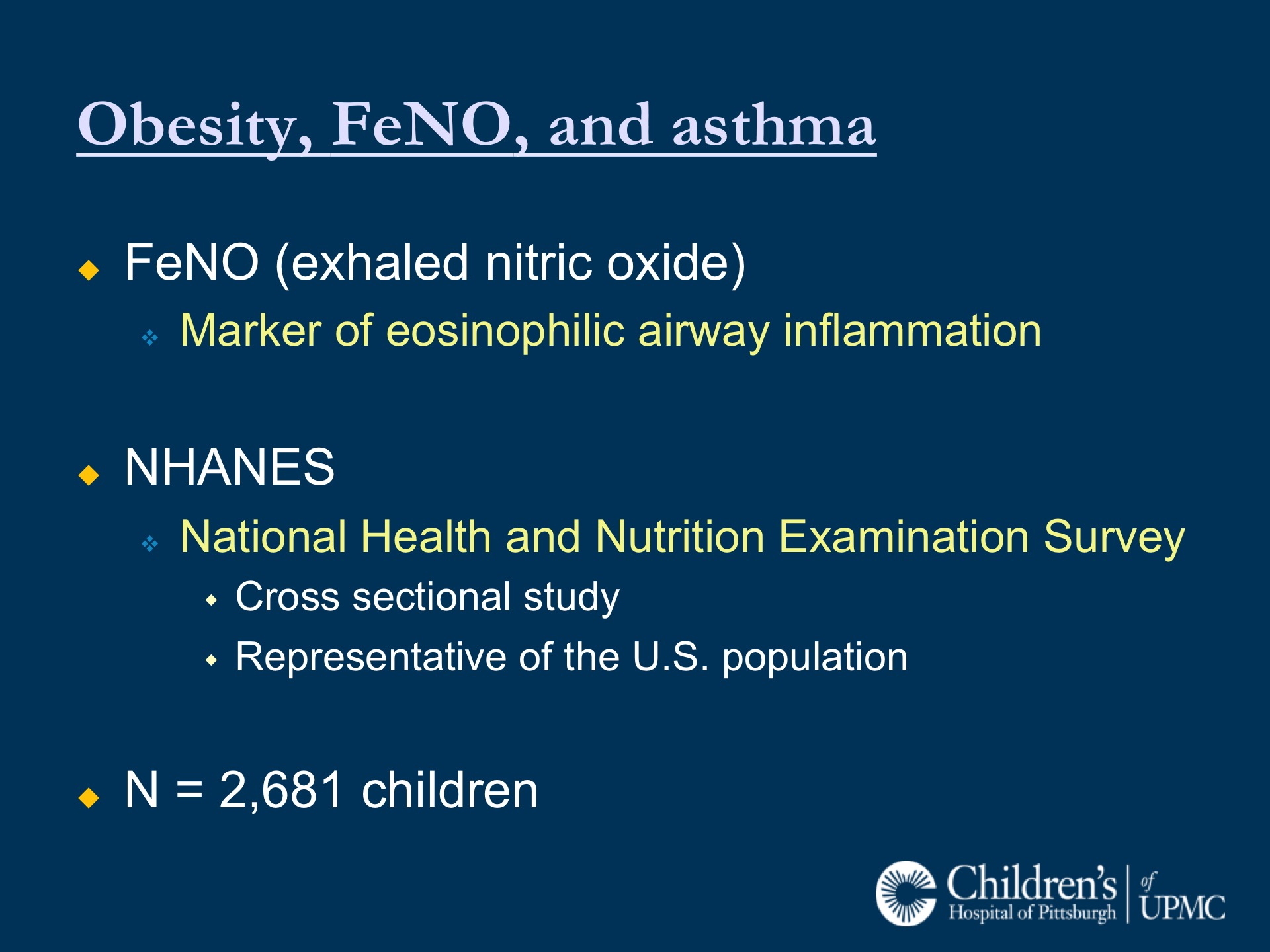 Childhood Obesity and Asthma: A Complicated Relationship | UPMC