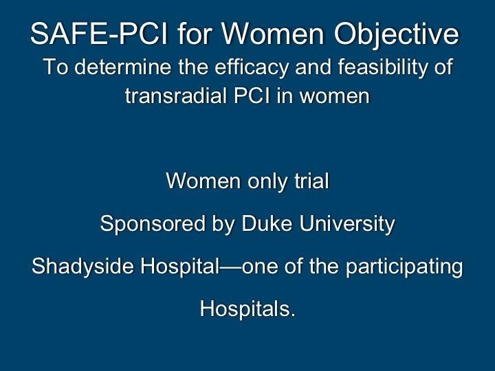 Transradial Catheterization/PCI | UPMC