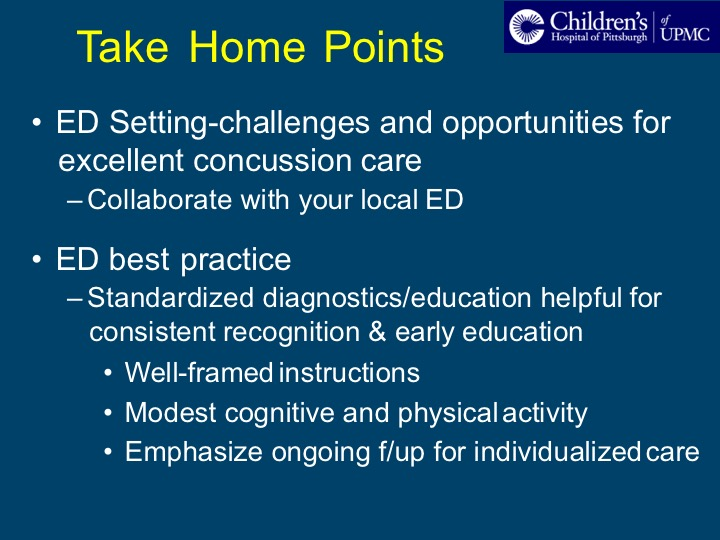 Emerging Frontiers In Concussion Session 2 Concussion Assessment