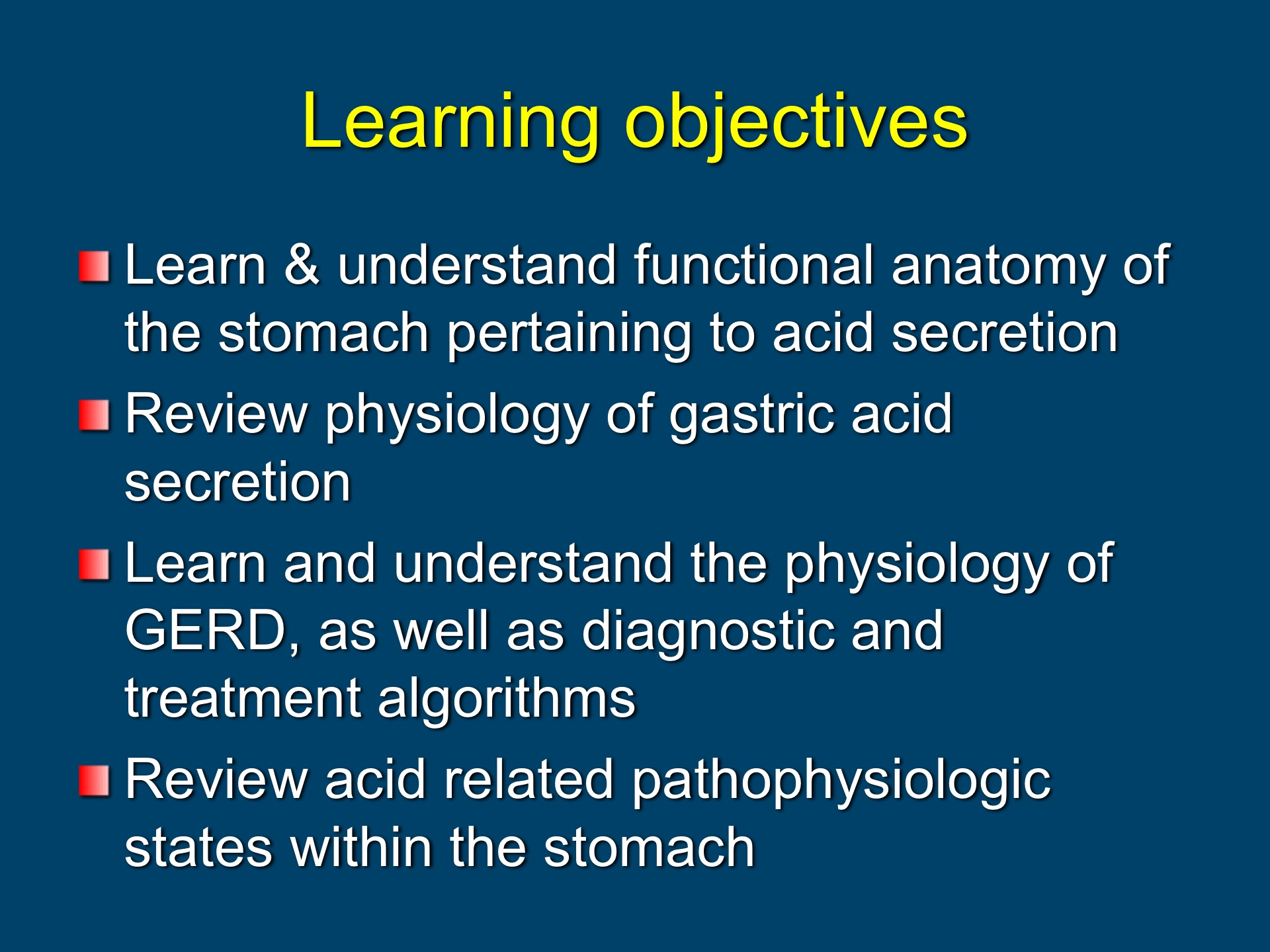 Gastroenterology and Hepatology State of the Art Lecture: GERD ...