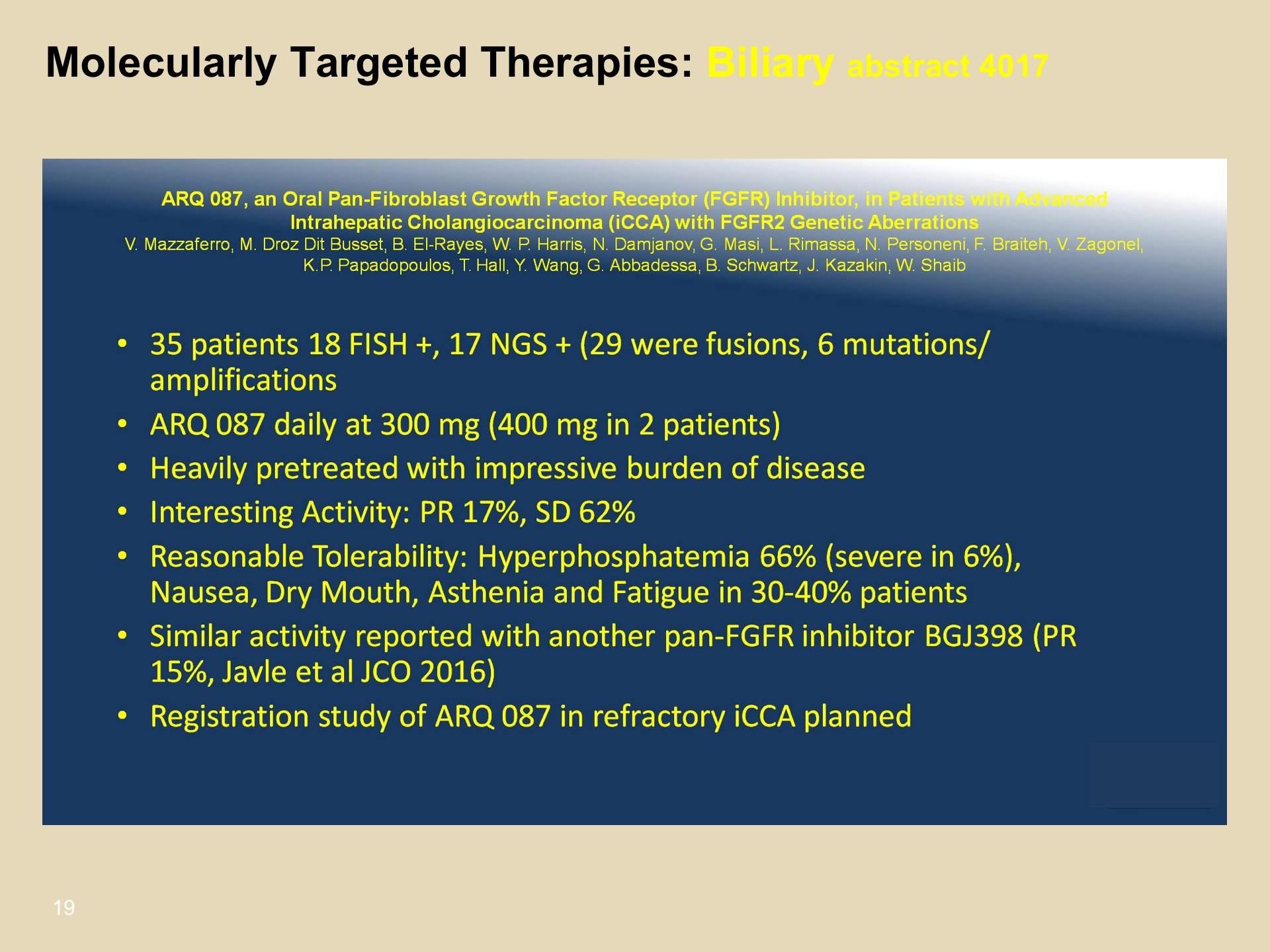 ASCO 2017 Review: Pancreaticobiliary Cancers | UPMC
