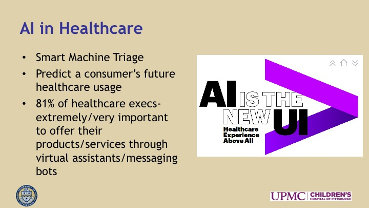 Artificial Intelligence & Machine Learning: Application in the Care