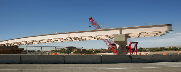 Flyover under construction (File)