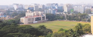 Bandra is a posh and up-market suburb of the West Mumbai.