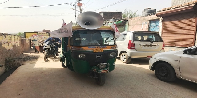 Blaring loudspeakers on auto-rickshaws criss-cross the lanes and bylanes... All these to woo the voters.