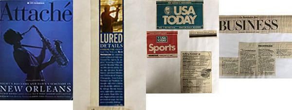 Internet Business Press Washington Post USA Today US Airways Magazine