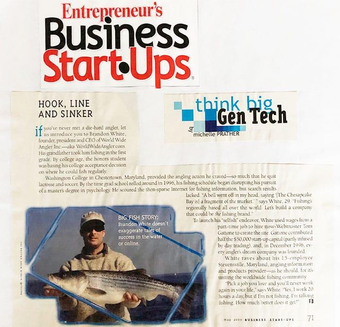 entrepreneur magazine business start ups