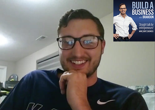 Build a Business with Brandon Podcast: How to Make Money Online. Kadin Z Explains How He Built a Profitable Online Business Side Hustle Marketing on You Tube and Selling on eBay.
