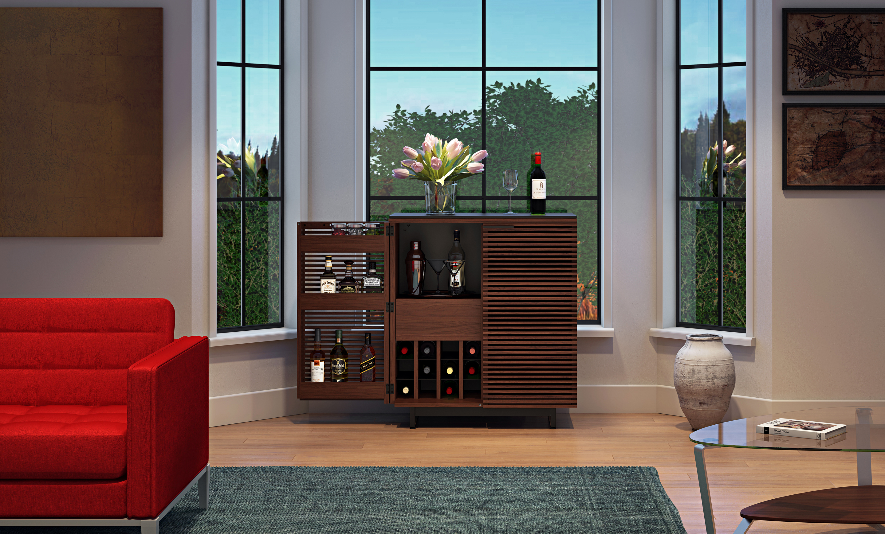 view furniture stand slim target unit large living cupboard white gloss and cream room bdi inch kids harbor stands media wood cabinet credenza uk acrylic tv glass sauder corner of for screens cantilever clear modern black entertainment full size flat buy at