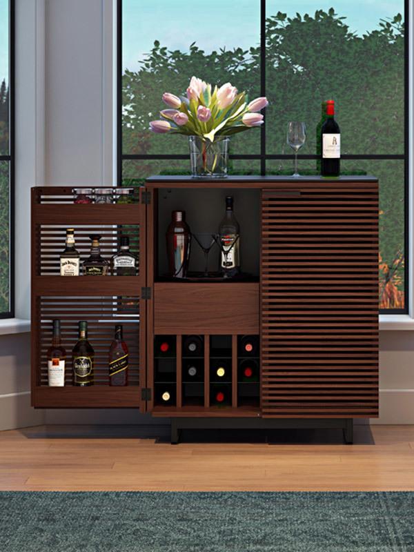 Home Bar Cabinets & Mobile Bar Carts | BDI Furniture