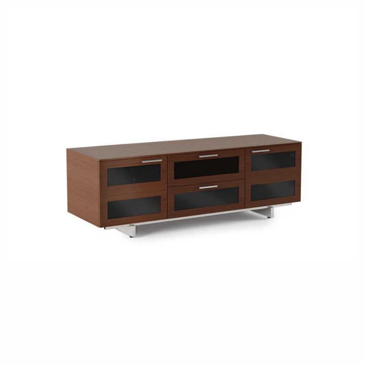 ... The BDI Avion Flat Panel Tv Cabinet Contemporary Media Storage With  Tempered Glass Doors And Media ...