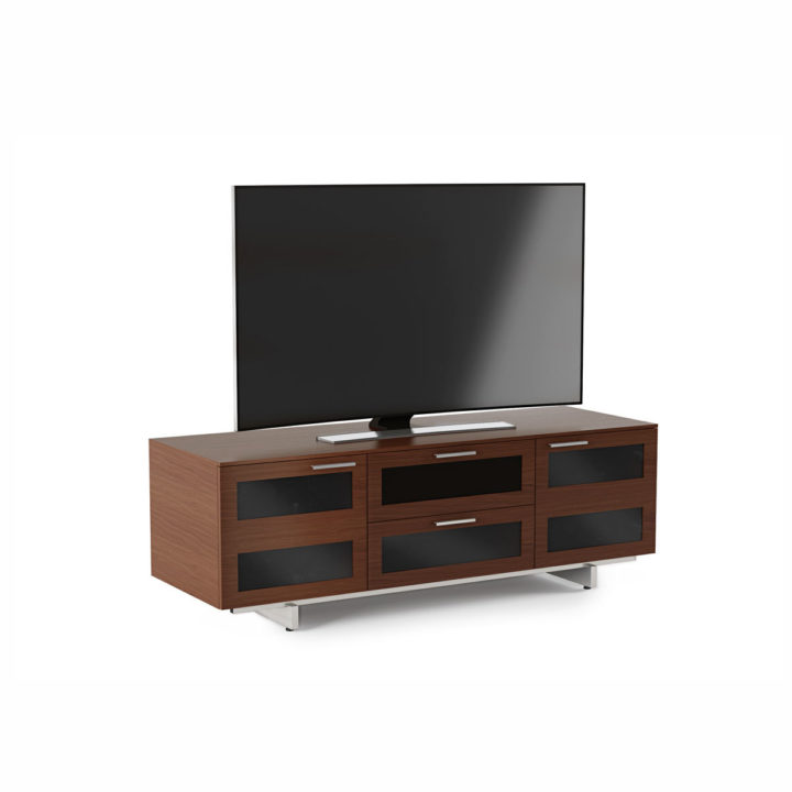 ... The Avion Flat Panel Tv Cabinet In Chocolate Walnut Finish By BDI  Modern Home Entertainment Cabinet ...