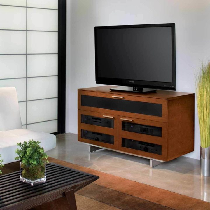 The BDI Avion Home Theater Cabinet Modern Tv Cabinet With Full Media  Storage in Stained Cherry  Avion Media Cabinet 8928   BDI. Home Theater Cabinet Design. Home Design Ideas