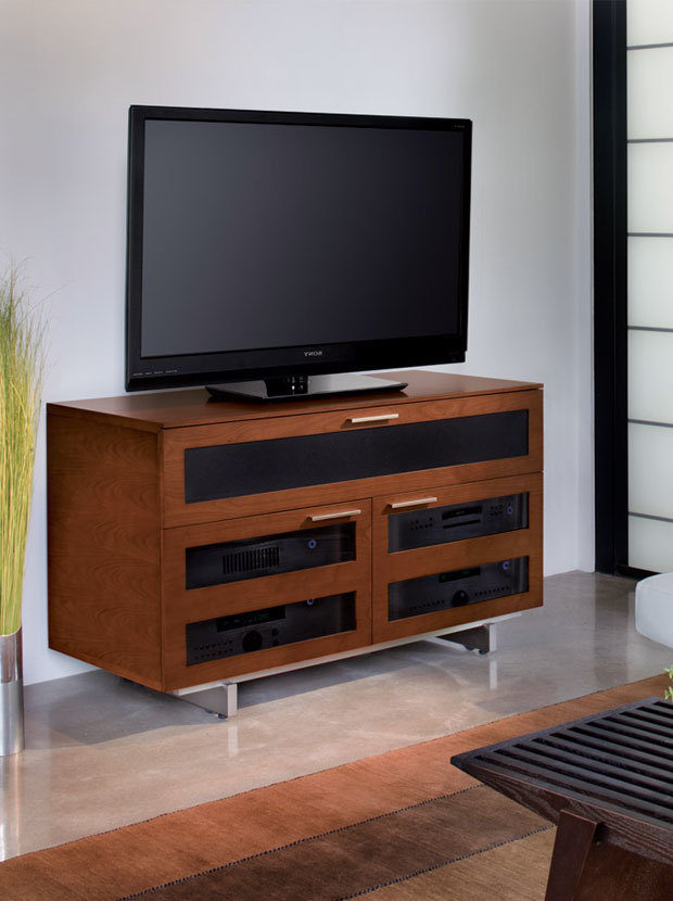 The Avion Contemporary Media Cabinet Stylish Design for Home Entertainment