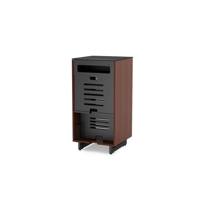 ... The Corridor Audio Tower By BDI Furniture In Chocolate Modern Media  Cabinet With Ample Ventilation For ...
