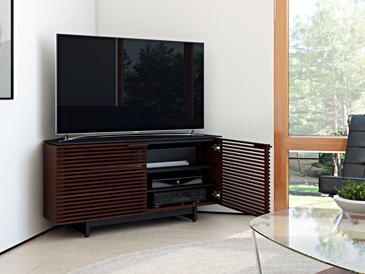 Corner Furniture Cabinet Go Ahead And Put Baby In The Corner Decoist Corridor Corner Media Cabinet 8175 Bdi Furniture