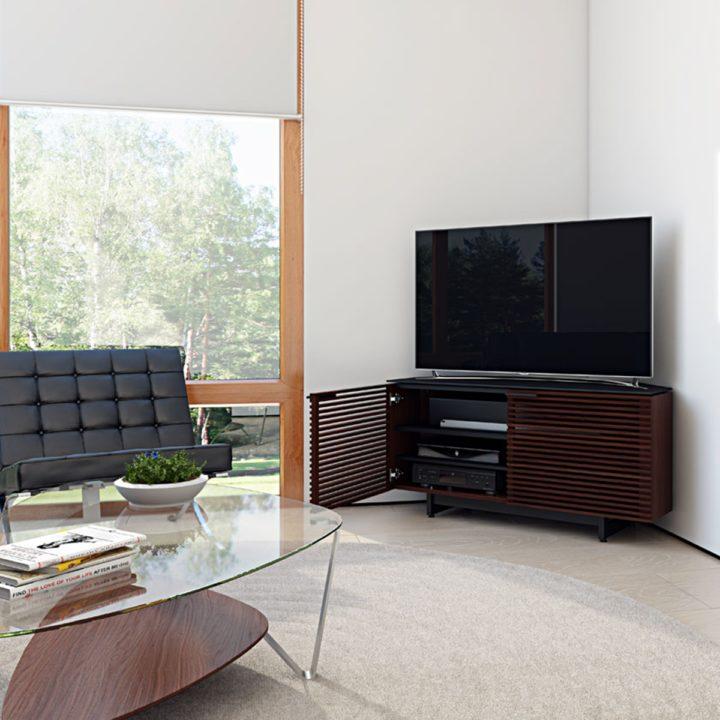 Corridor Corner Media Cabinet 8175 Bdi Furniture
