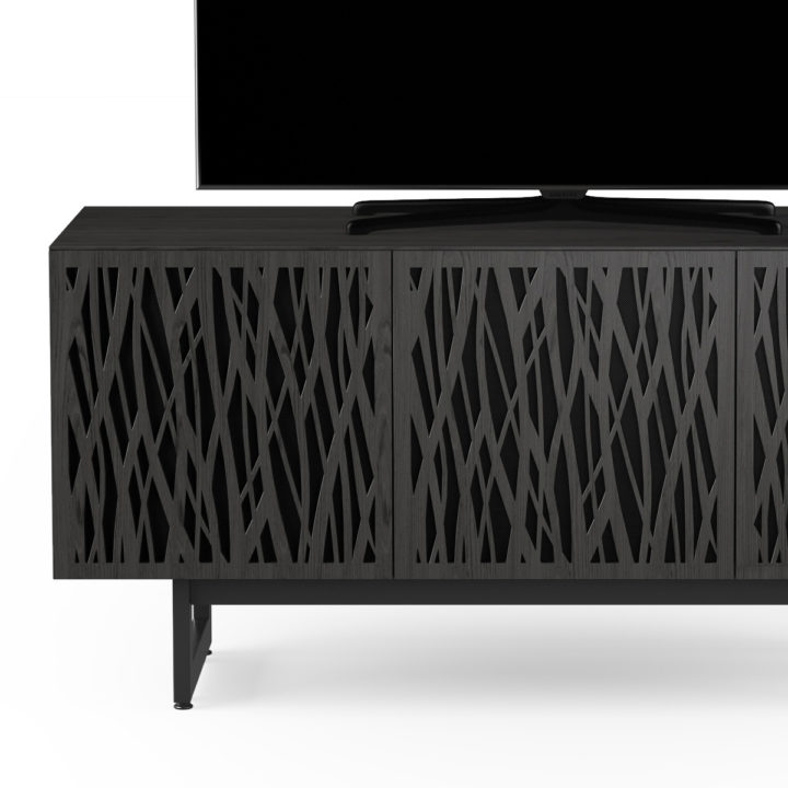 ... The BDI Elements Wheat Media Storage Cabinet In Charcoal Home  Entertainment Cabinet ...