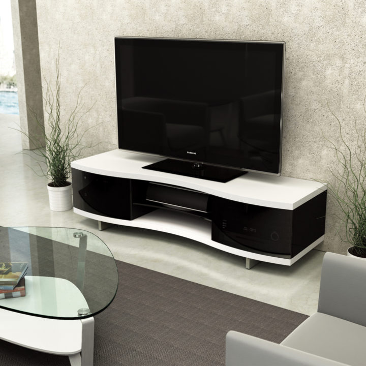 double tv multimedia product oak media horizon cabinet multi venture