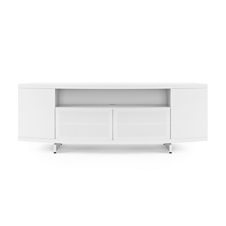 Sweep media console 8438 bdi White media console