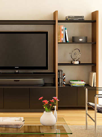 design home furniture hall modular media perfect home for semblance shelving media and office systems bdi furniture
