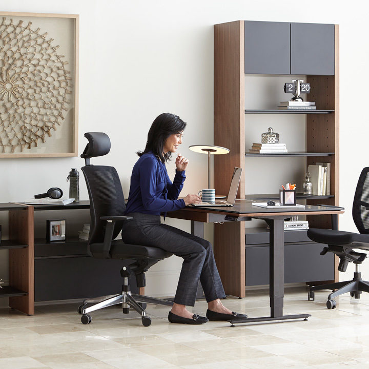 The BDI Semblance Collection versatile modular office furniture