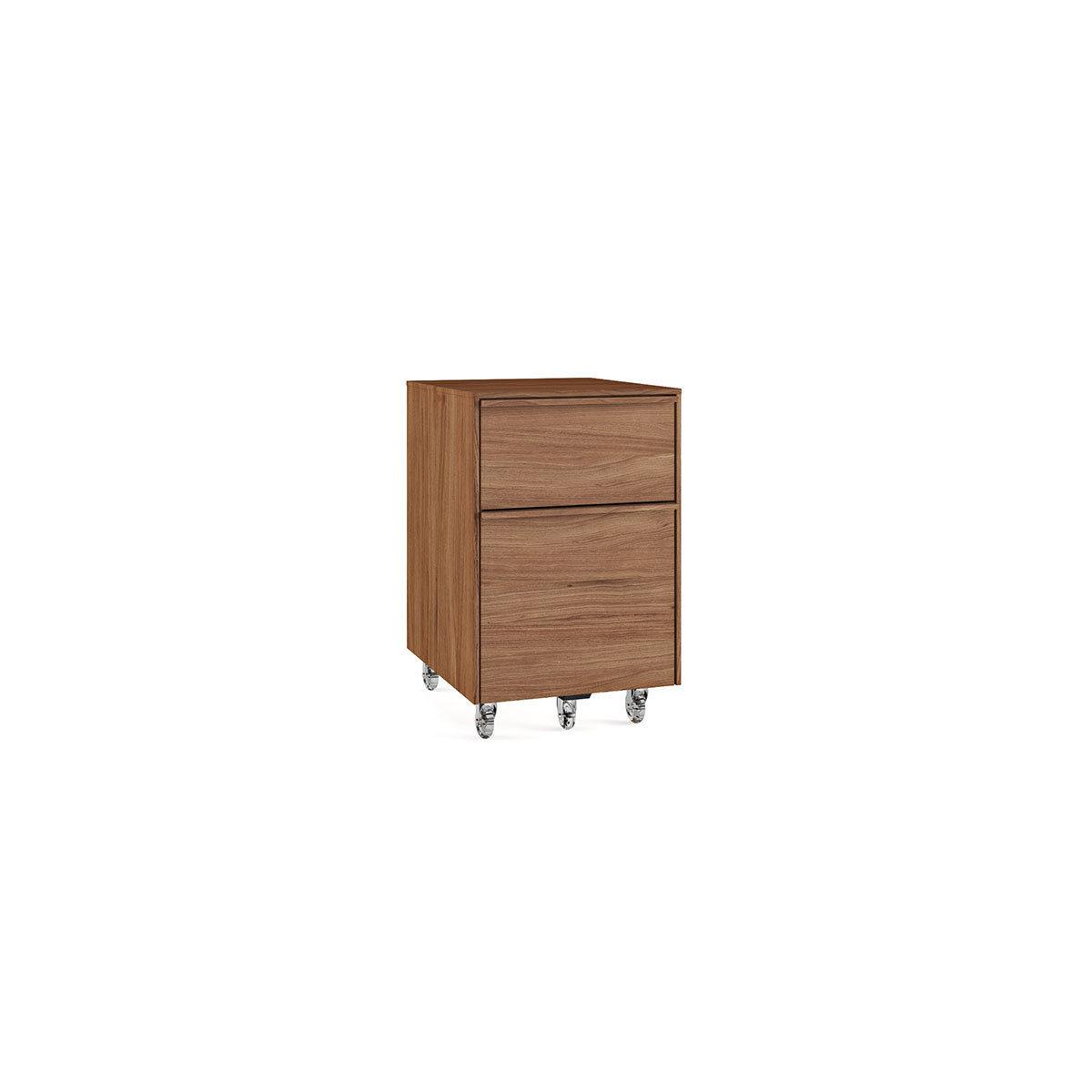 Cascadia 6207 Mobile File Pedestal. Natural Walnut