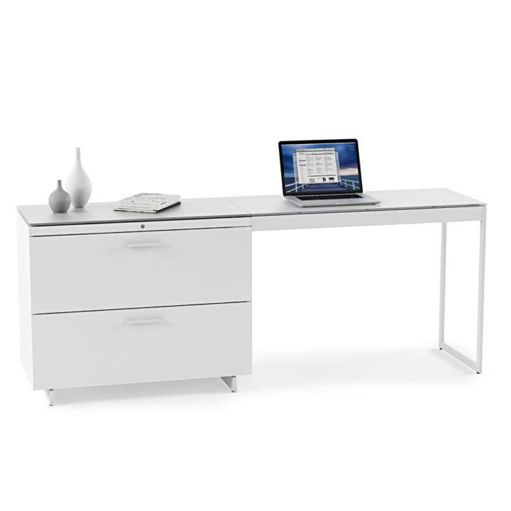 ... Locking Drawer · The Centro Office Collection With Return And Lateral  File Cabinet By BDI ...