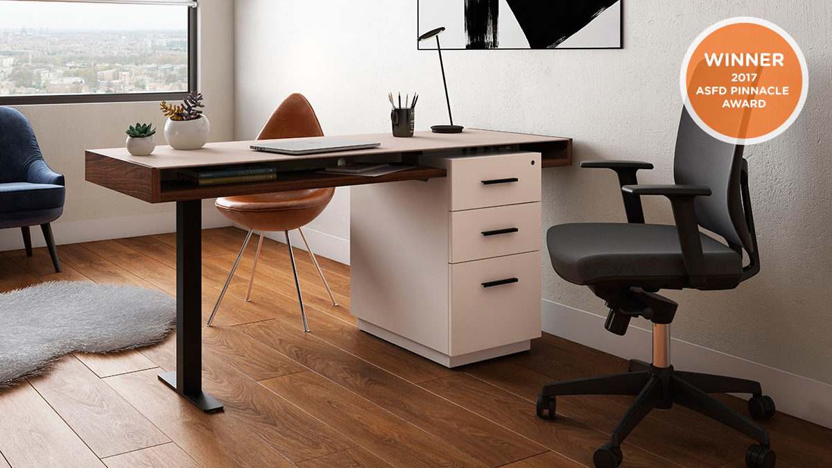The Duo Office Collection by BDI streamlined design for modern home office