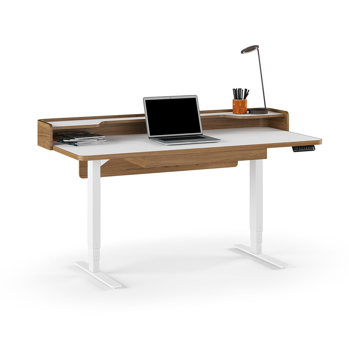Kronos Lift Standing Desk Quotxquot BDI Furniture - Office table lift