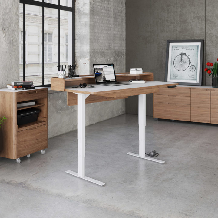 in contemporary desk glass eurway stand espresso by furnitiure lift sit modern black sequel front bdi