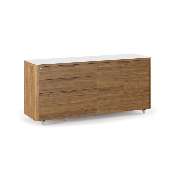 Kronos Mobile Credenza 6729 Bdi Furniture
