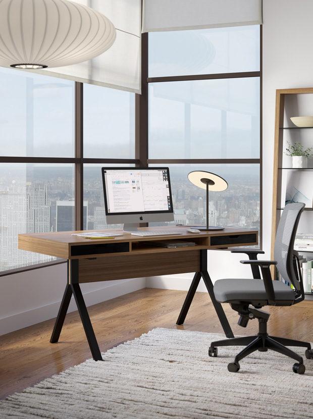 The BDI Modica Collection unique contemporary design for full home office